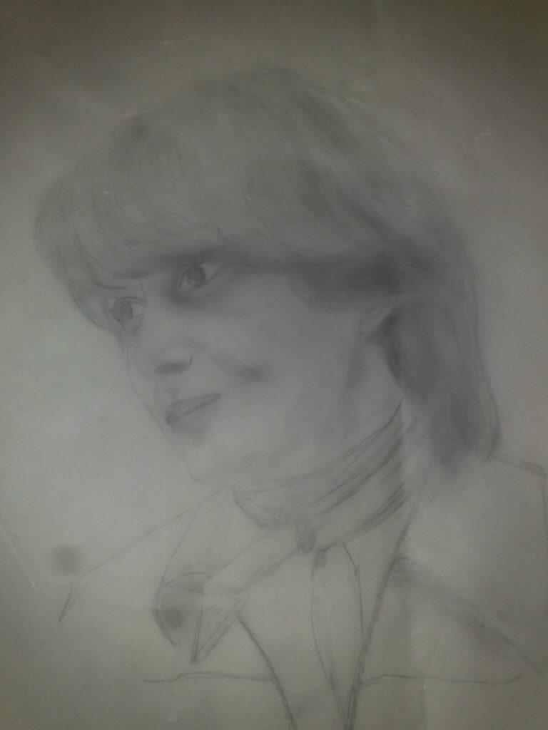ohne Titel, Bleistift, Transparentpapier; 1978