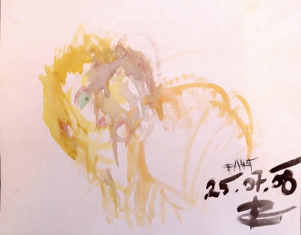 Faust, Aqurell, Karton,50x40 cm, 2008
