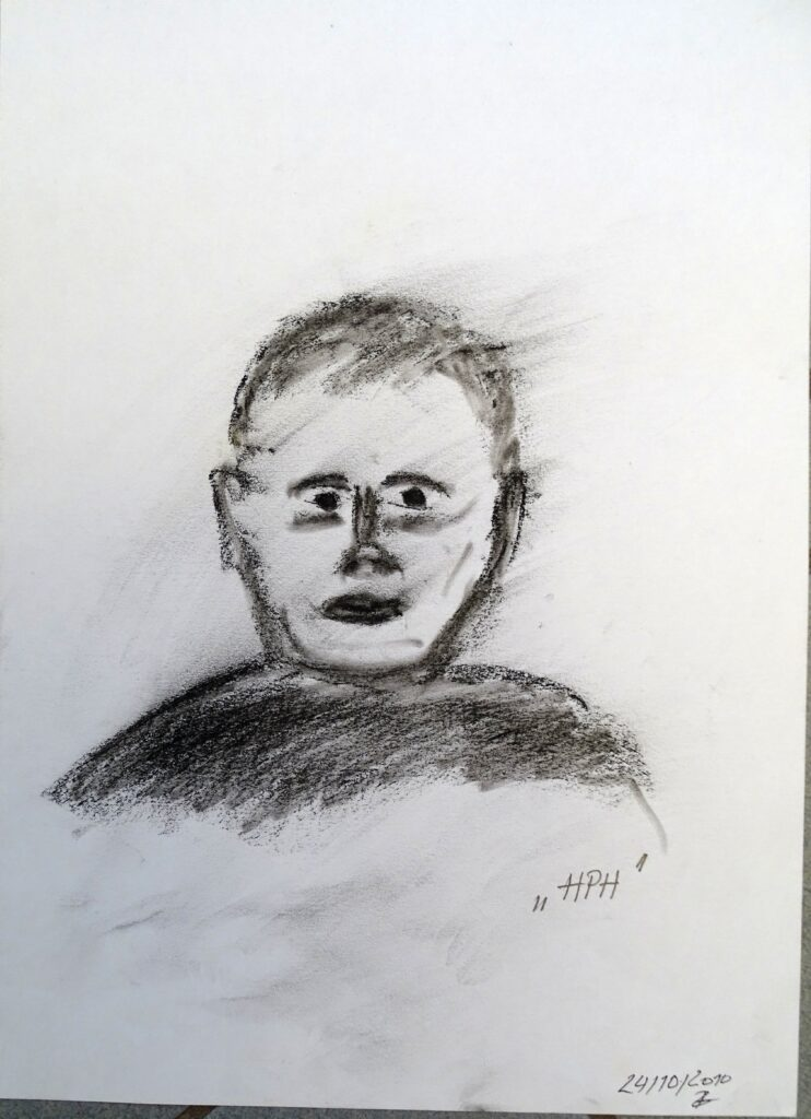 HPH, Kreide, Papier, 25x35 cm, 2010