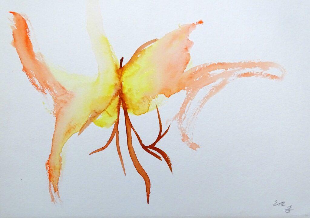 Ohne Titel, Aquarell, Papier, 21x30 cm, 2012