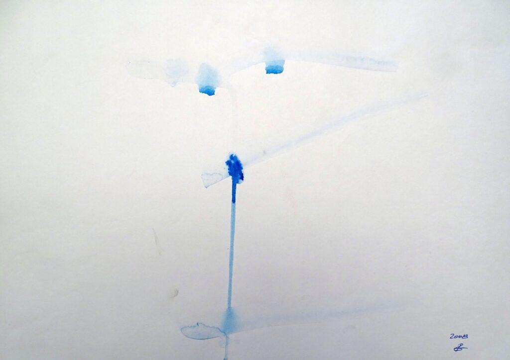 Ohne Titel, Aquarell, Papier, 42x29 cm, 2008