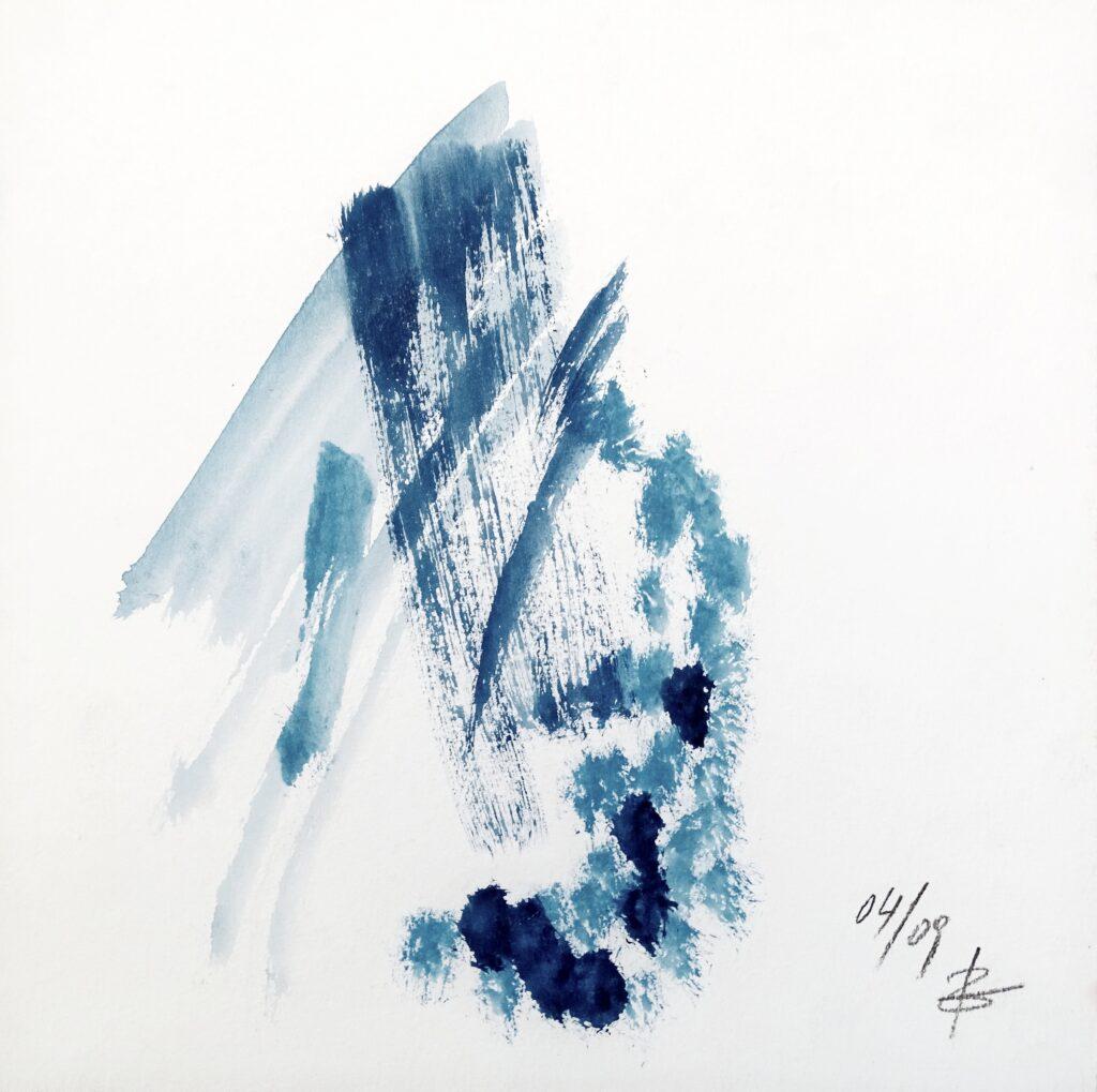 Ohne Titel, Acryl, Karton, 25x25 cm, 2009