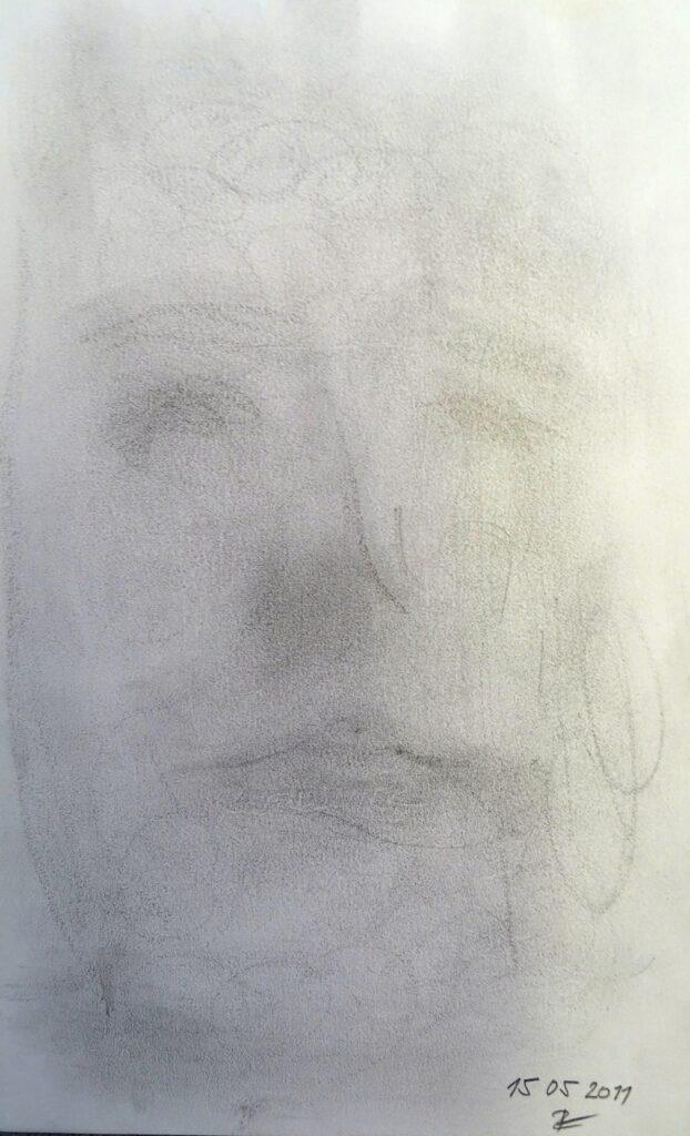 Ohne Titel-6, Bleistift, Papier, 16x 25 cm, 2011