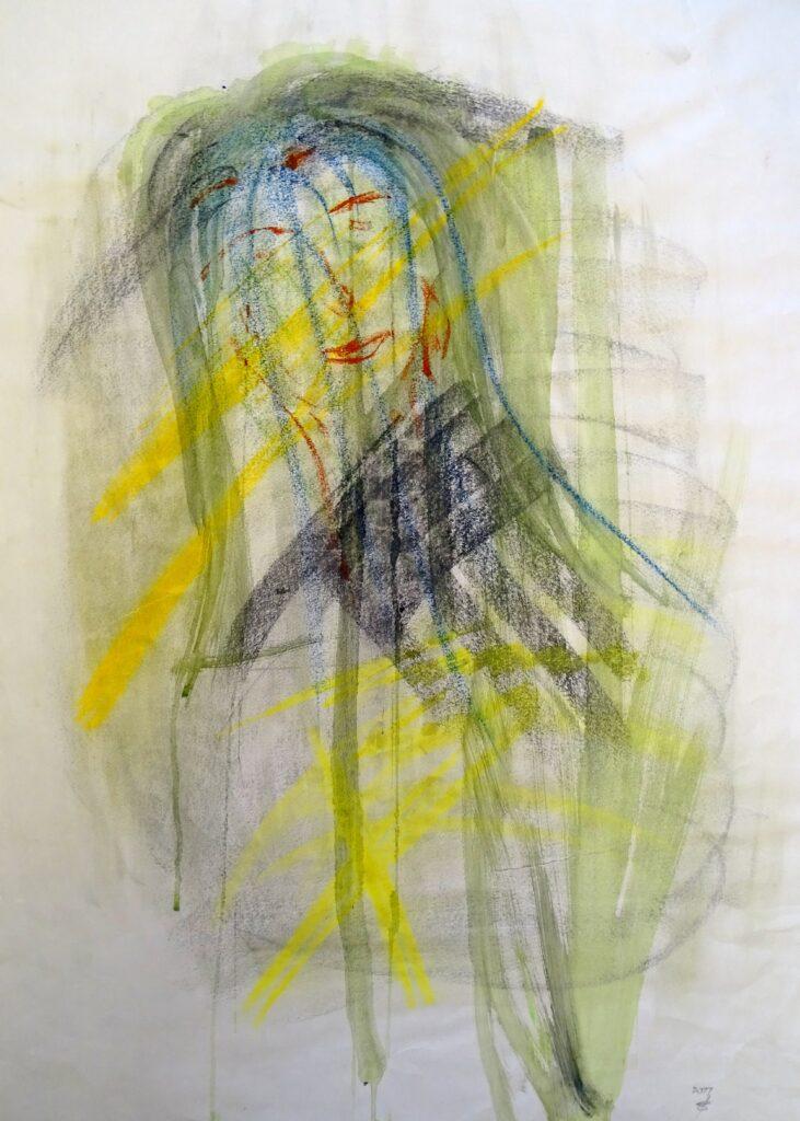 Ohne Titel-7,Mischtechnik, Papier, 59x83 cm, 2011