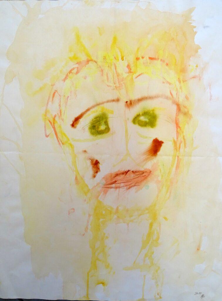 Ohne Titel-8, Mischtechnik, papier, 50x65 cm, 2011